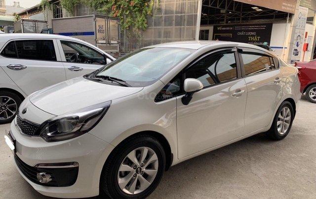 Bán ô tô Kia Rio năm 2016, màu trắng, xe nhập, số tự động, giá 438tr1