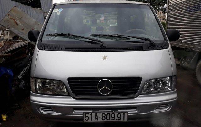 Mercedes Benz MB100 2002 số sàn 9 chỗ, giá sốc 149 triệu, LH: 09063445690