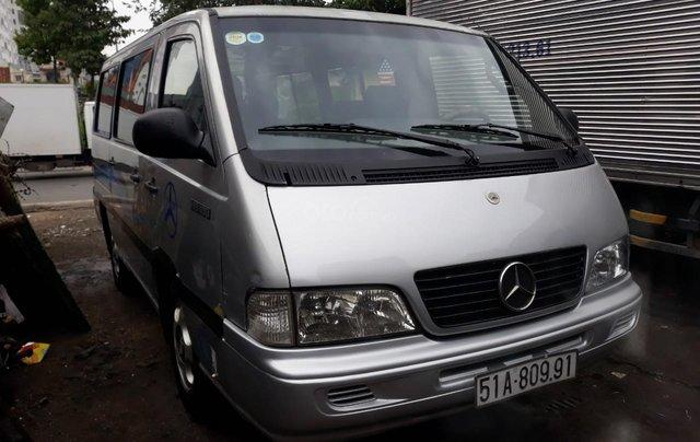 Mercedes Benz MB100 2002 số sàn 9 chỗ, giá sốc 149 triệu, LH: 09063445695