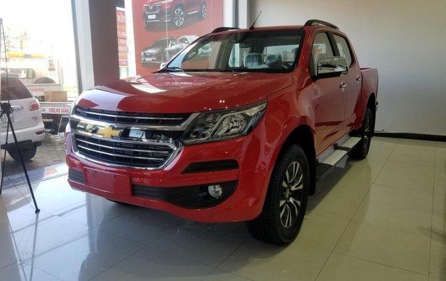 Cần bán Chevrolet Colorado LTZ đời 2018, màu đỏ, nhập khẩu nguyên chiếc, giá chỉ 689 triệu1