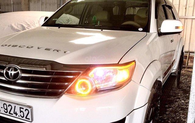 Cần bán Toyota Fortuner 2014, màu trắng, xe nhập, giá 668tr, liên hệ 09277155550