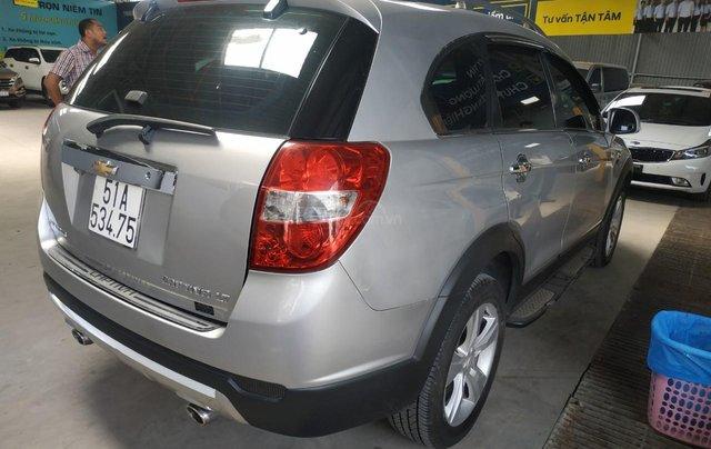 Bán Chevrolet Captiva LT 2.4 màu bạc, số sàn, sản xuất 2013, biển Sài Gòn, đi 49.000km mẫu mới1