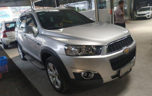 Bán Chevrolet Captiva LT 2.4 màu bạc, số sàn, sản xuất 2013, biển Sài Gòn, đi 49.000km mẫu mới4