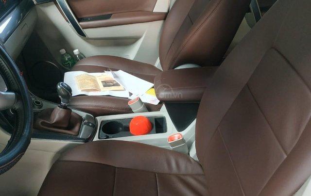 Bán Chevrolet Captiva LT 2.4 màu bạc, số sàn, sản xuất 2013, biển Sài Gòn, đi 49.000km mẫu mới6