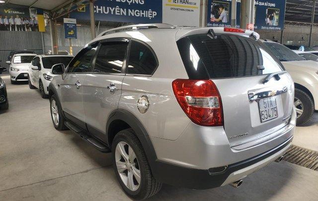Bán Chevrolet Captiva LT 2.4 màu bạc, số sàn, sản xuất 2013, biển Sài Gòn, đi 49.000km mẫu mới8