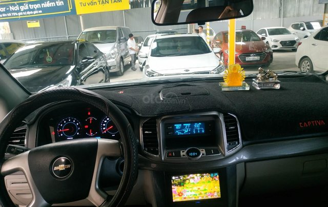 Bán Chevrolet Captiva LT 2.4 màu bạc, số sàn, sản xuất 2013, biển Sài Gòn, đi 49.000km mẫu mới9