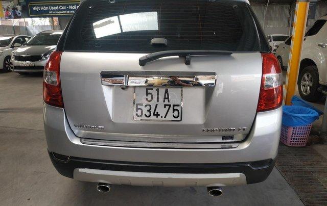 Bán Chevrolet Captiva LT 2.4 màu bạc, số sàn, sản xuất 2013, biển Sài Gòn, đi 49.000km mẫu mới10