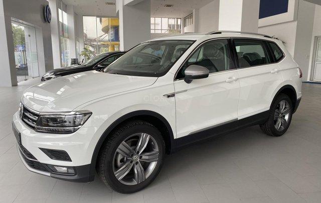 Bán Volkswagen Tiguan Allspace Highline new 100% (2018), màu trắng, xe nhập khẩu nguyên chiếc - Liên hệ 03962687867