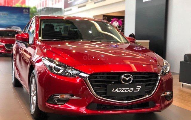 Tặng gói phụ kiện giá trị - Hỗ trợ trả góp tối đa, Mazda 3 2.0 sản xuất 2019, màu đỏ, giá tốt1