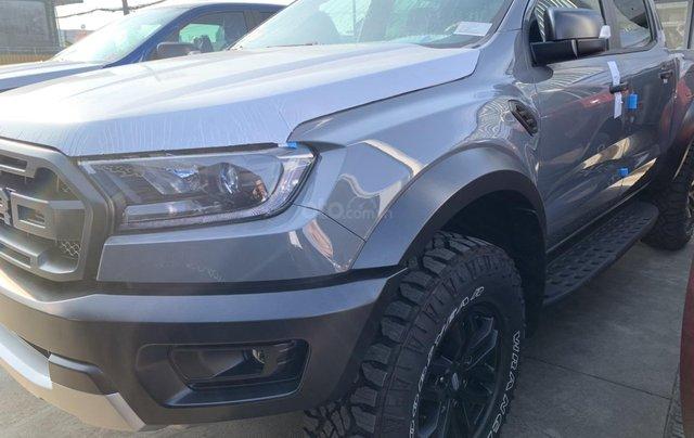 Bán nhanh chiếc xe Ford Ranger Raptor  đời 2019, màu bạc, máy dầu, số tự động2
