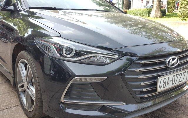Bán Hyundai Elantra Turbo 1.6AT màu đen VIP số tự động, sản xuất 201,8 đi 32000km3