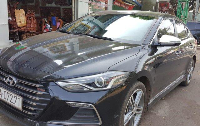 Bán Hyundai Elantra Turbo 1.6AT màu đen VIP số tự động, sản xuất 201,8 đi 32000km5