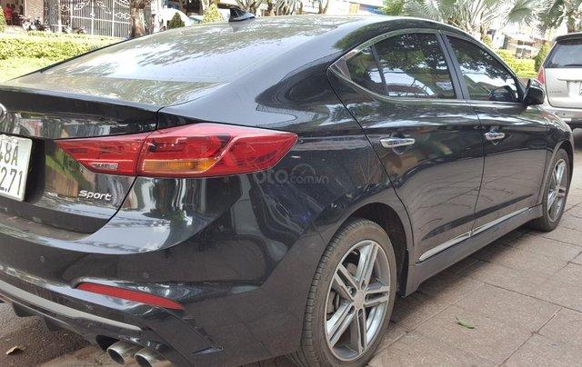 Bán Hyundai Elantra Turbo 1.6AT màu đen VIP số tự động, sản xuất 201,8 đi 32000km8