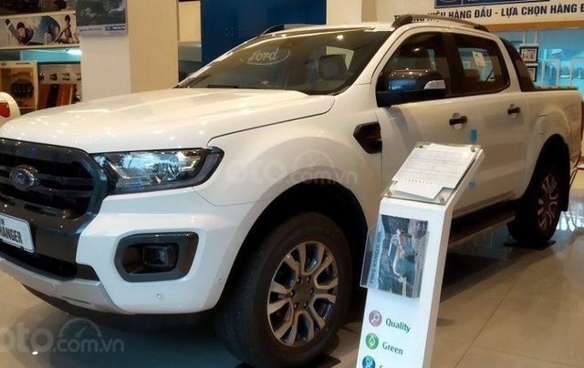 Cần bán Ford Ranger 2.2L XLT năm sản xuất 2019, màu trắng, xe nhập4