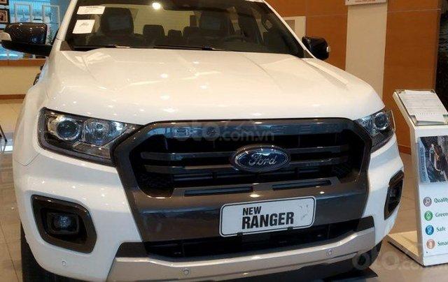 Cần bán Ford Ranger 2.2L XLT năm sản xuất 2019, màu trắng, xe nhập3
