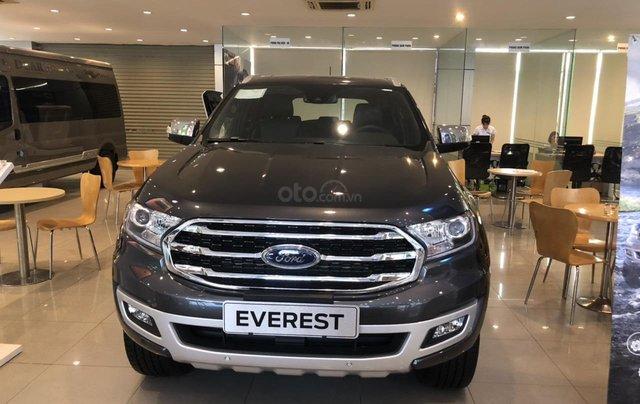 Cần bán nhanh chiếc xe Ford Everest sản xuất năm 2019, màu xám, nhập khẩu4
