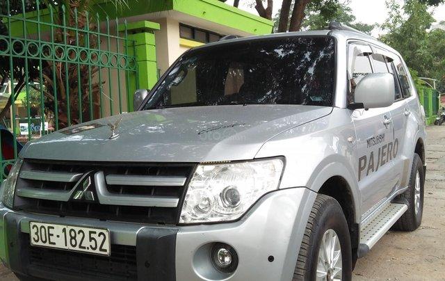 Cần bán Mitsubishi Pajero 2008, màu bạc, xe nhập0