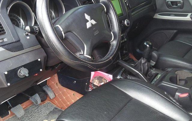 Cần bán Mitsubishi Pajero 2008, màu bạc, xe nhập1