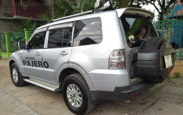 Cần bán Mitsubishi Pajero 2008, màu bạc, xe nhập7