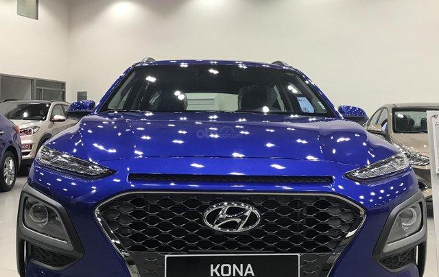 Bán Hyundai Kona 2.0 AT Đặc Biệt sản xuất năm 2019, màu xanh lam, giá cạnh tranh0
