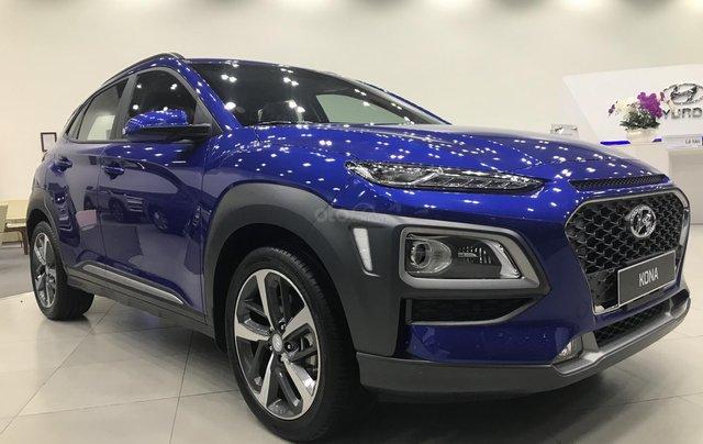 Bán Hyundai Kona 2.0 AT Đặc Biệt sản xuất năm 2019, màu xanh lam, giá cạnh tranh1