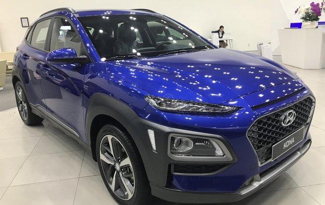 Bán Hyundai Kona 2.0 AT Đặc Biệt sản xuất năm 2019, màu xanh lam, giá cạnh tranh16
