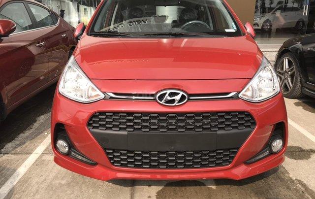 Cần bán Hyundai Grand i10 đời 2020, màu đỏ, xe mới 100%, sx trong nước, hỗ trợ trả góp tới 80%1