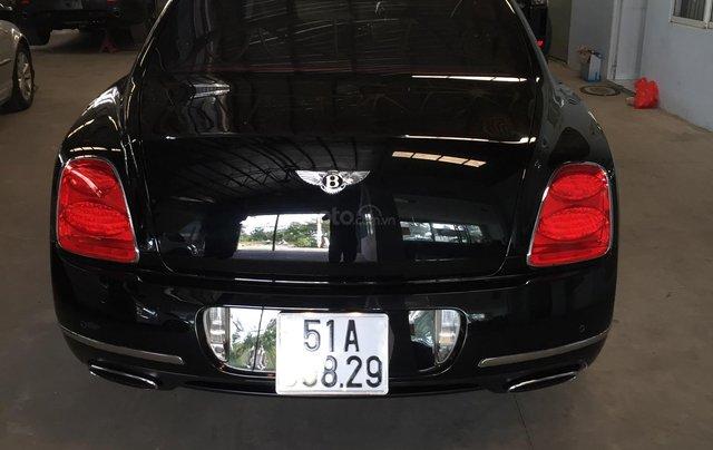 Cần bán Bentley Continental Flying Spur 2008, ĐK 2010, màu đen, nhập khẩu0