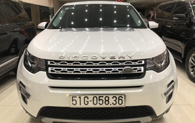 LandRover Discovery Sport HSE Luxury 2018, màu trắng0