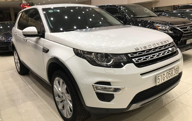 LandRover Discovery Sport HSE Luxury 2018, màu trắng1