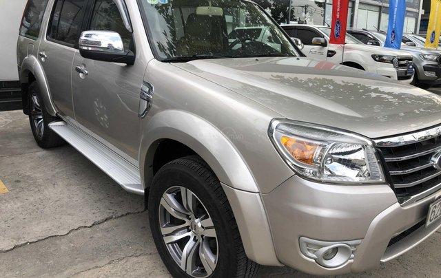 Cần bán gấp Ford Everest đời 2009, màu vàng xe gia đình giá 459 triệu đồng1
