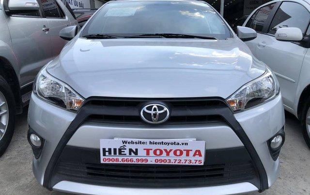 Bán Toyota Yaris sản xuất 2016, màu bạc, nhập khẩu nguyên chiếc như mới, giá chỉ 540 triệu0