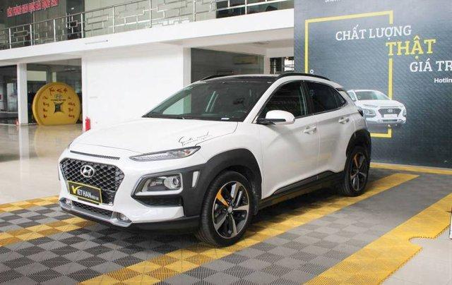 Bán ô tô Hyundai Kona 2018, màu trắng, giá tốt1