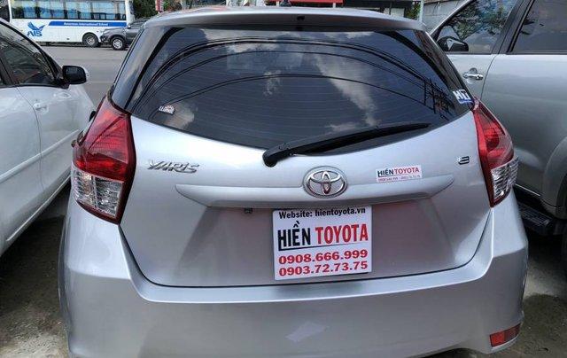 Bán Toyota Yaris sản xuất 2016, màu bạc, nhập khẩu nguyên chiếc như mới, giá chỉ 540 triệu2