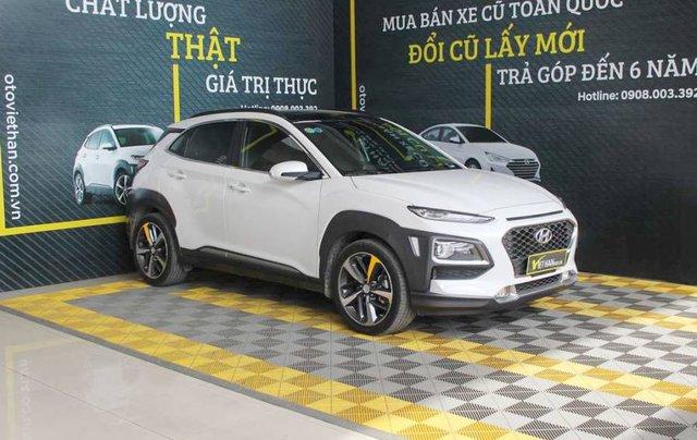Bán ô tô Hyundai Kona 2018, màu trắng, giá tốt0