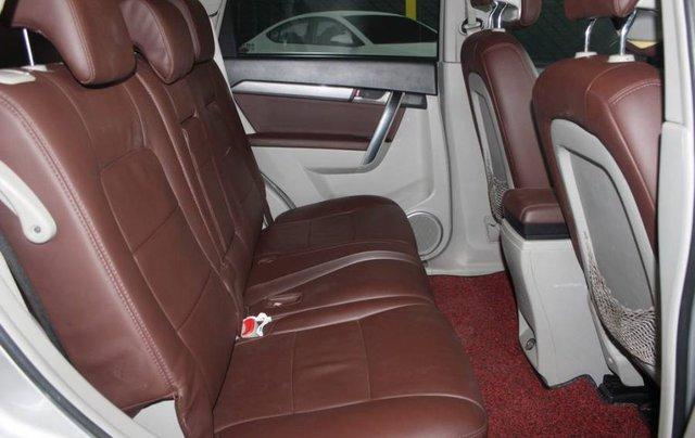 Bán xe Chevrolet Captiva năm 2013, màu bạc, 386tr6