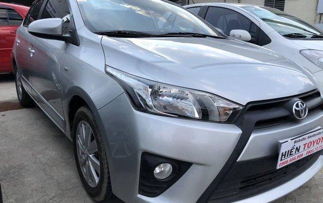 Bán Toyota Yaris sản xuất 2016, màu bạc, nhập khẩu nguyên chiếc như mới, giá chỉ 540 triệu6
