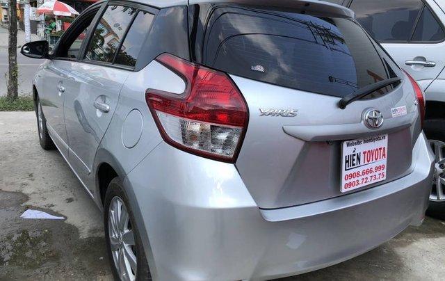 Bán Toyota Yaris sản xuất 2016, màu bạc, nhập khẩu nguyên chiếc như mới, giá chỉ 540 triệu4