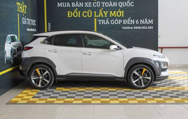 Bán ô tô Hyundai Kona 2018, màu trắng, giá tốt3