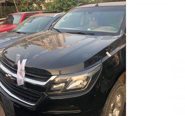 Cần bán xe Chevrolet Colorado LTZ đời 2017, màu bạc, xe nhập, giá 510tr