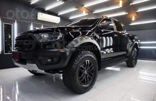 Thanh lý giá rẻ, Ford Ranger Raptor đời 2019, màu đen, xe nhập
