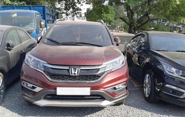 Bán Honda CR V đời 2016, màu nâu số tự động1