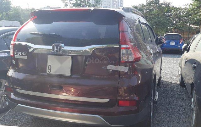Bán Honda CR V đời 2016, màu nâu số tự động2