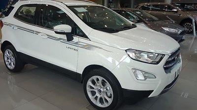 Bán nhanh chiếc xe Ford EcoSport Ambiente 1.5L MT sản xuất 2019, màu trắng - Giá cạnh tranh3
