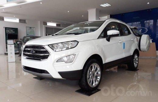 Bán nhanh chiếc xe Ford EcoSport Ambiente 1.5L MT sản xuất 2019, màu trắng - Giá cạnh tranh2