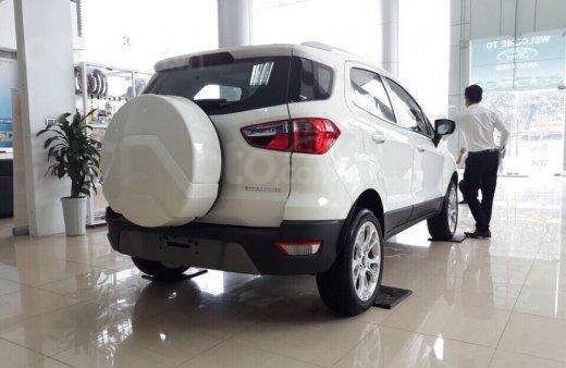 Bán nhanh chiếc xe Ford EcoSport Ambiente 1.5L MT sản xuất 2019, màu trắng - Giá cạnh tranh1