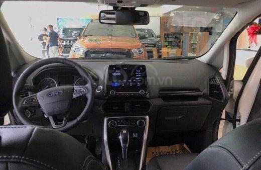 Bán nhanh chiếc xe Ford EcoSport Ambiente 1.5L MT sản xuất 2019, màu trắng - Giá cạnh tranh4