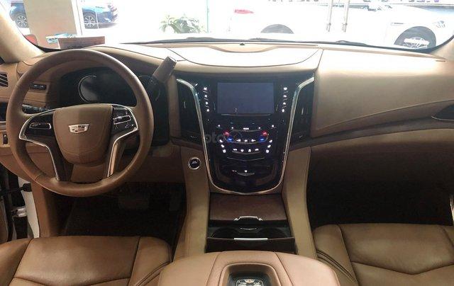 Bán Cadillac Escalade ESV Platinum 2016, màu trắng nội thất nâu6