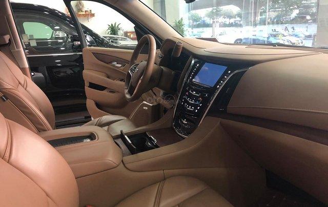 Bán Cadillac Escalade ESV Platinum 2016, màu trắng nội thất nâu7