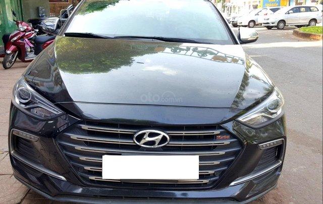 Hãng bán Hyundai Elantra Tubor 1.6AT, màu đen vip, 2018, xe cực đẹp0